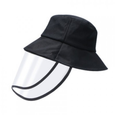 成人防飛沫漁夫帽 - 帶透明面罩(可拆卸)