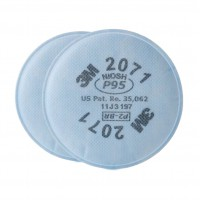 3M 2071 P95 防塵防粉顆粒物過濾棉(白色)