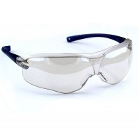 3M™ V36 10436 防護鏡防霧防UV(反光透明鏡藍框)