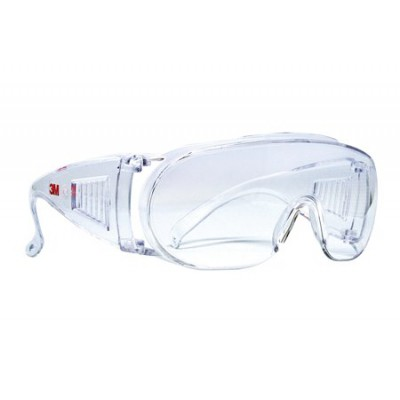 3M™ 1611 經濟型防護眼鏡防UV(可配帶眼鏡)