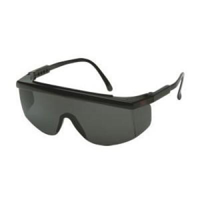 3M™ 1712 防護眼鏡防UV(灰色鏡黑框)(可調節長度)