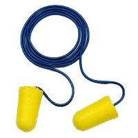 3M™ 312-1223 TaperFit™ II 子彈型帶線耳塞(黃)