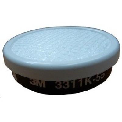 3M™ 3311K-55 濾罐(防有機會體,天拿水,粉塵,霧滴)