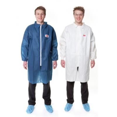 3M™ 4400 防護衣(白色 中碼)