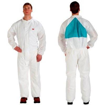 3M™ 4520 防護衣(白+綠色 中碼)