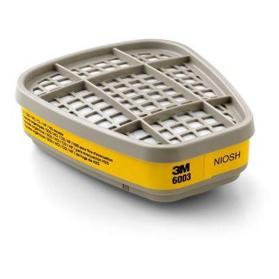 3M™ 6003 濾罐防有機氣體/酸性氣體 (2個/包)