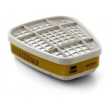 3M™ 6006 綜合氣體/蒸氣用濾毒罐