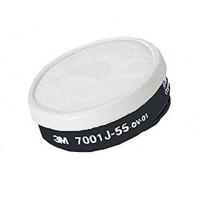 3M™ 7011J-55 過濾棉罐(防塵)(白)