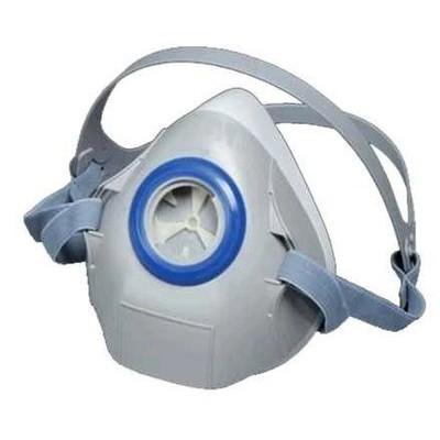 3M™ 7702K 中半面罩矽膠防毒氣面罩(灰)