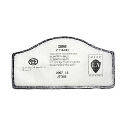 3M™  7744C 過濾棉(粉塵/霧滴/有機氣體)(白) (1片裝)