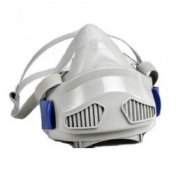 3M™ 7772K 中半面罩矽膠防顆粒物防護面罩(灰)