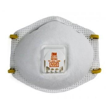3M™ 8511 N95 微細粉塵防護口罩