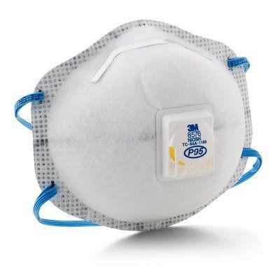 3M™ 8576 P95 活門防菌防護口罩