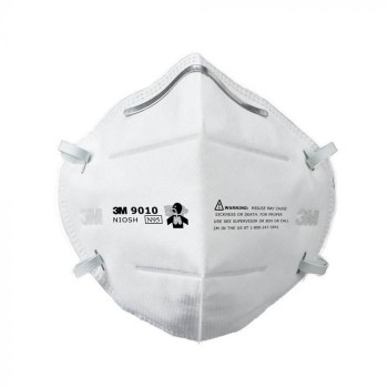 3M™ 9010 N95 防菌口罩(白) 摺疊式