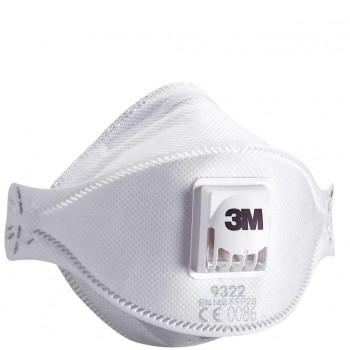 3M™ 9322 P2 防護口罩(帶呼吸閥)