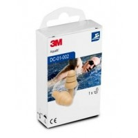 3M™ Aquafit™ 專業游泳耳塞防進水成人耳塞 DC -01-002