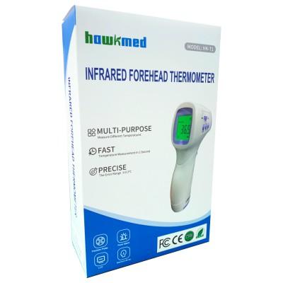 紅外線非接觸式額溫槍電子體溫計 (CE,FDA認証)