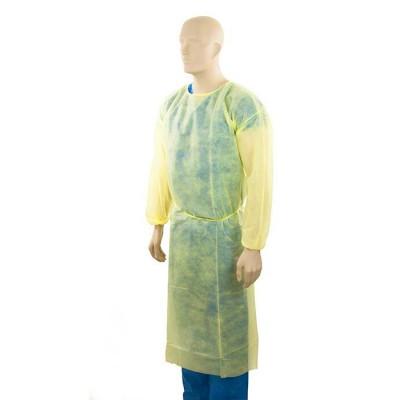 一次性不織布保護衣(黃色彈性束袖)  Standard AAMI AATCC127 Level 3