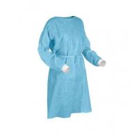 一次性不織布保護衣 PPE (藍色彈性束袖)  Standard EN13795-1( 1件/包 )